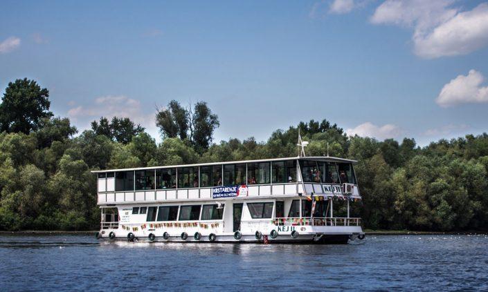 Brod Kej 2 krstarenje Dunavom i Savom