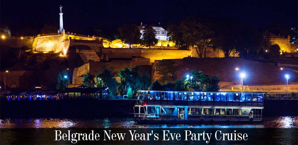 "Experience New Year's Eve 2019. in Belgrade on board of the luxury boat ""Kej 1"""